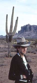 Young Brad in the desert