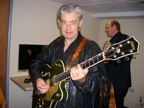 Chris Spedding with Andy Country Club Gretsch