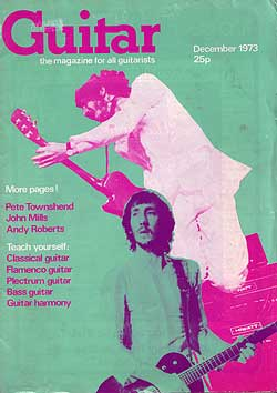 Andy was interviewed for Guitar magazine in December 1973