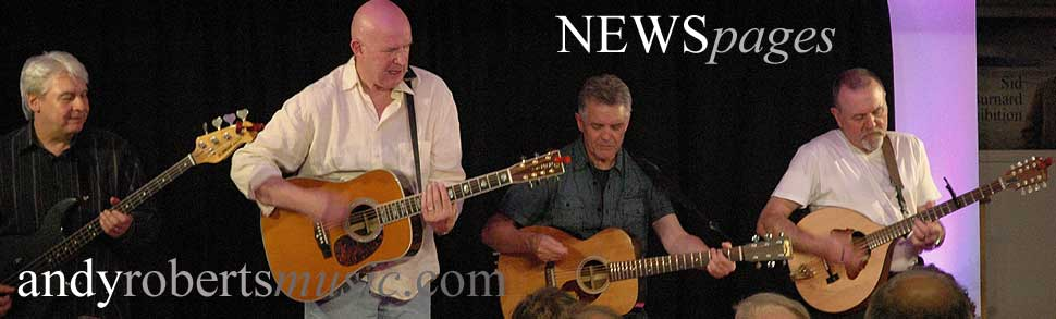 Andy Roberts Music: News banner