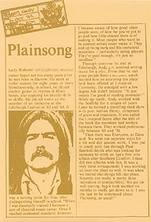 Plainsong Press Pack