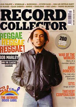 Record Collector magazine cover